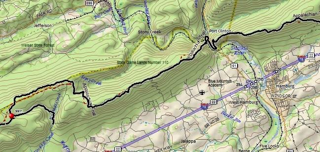 7/26-27/14: Appalachian Trail Section Hike: Port Clinton, Pulpit ...