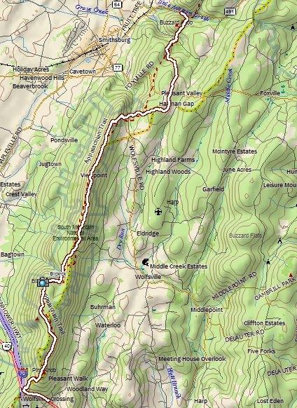 Appalachian Trail Section Hike: Black Rock, Annapolis Rock